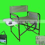 Outdoor portable luxury director chair