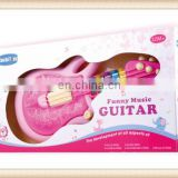 high quality cartoon musical toy guitar for kids