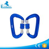 12KN Aluminum Carabiner with screw