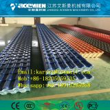 Plastic composite glazed roof tile making machine/ PVC glazed roof tile making machine/ Vinyle glazed roof sheet making