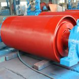 Heavy duty drive unit pulley which is used in material handling conveyor
