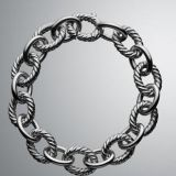 DY Inspired 925 Sterling Silver Oval Link Chain Bracelet