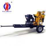 High Power Cheap XYX-130 wheeled hydraulic core drilling rig exploration borehole drilling rig