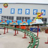 Best Selling Amusement Parc Machine Dragon Electric Train Rides Mini Rolloer Coaster