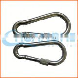 Made in china brushed black nickel snap hooks