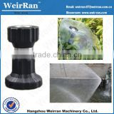 (7302) aluminum adjustable powerful fireman water jet nozzle