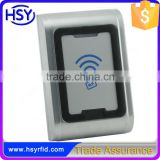 NEW metal case id ic card reading outdoor ip68 waterproof rfid reader                                                                                                         Supplier's Choice