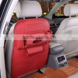 Mutifunction car seat organizer beige red black brown front seat organizer                                                                         Quality Choice