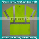 Outdoor Reflective Tape Safety Shirt Clothing Wholesale