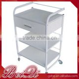 Beiqi New Style Salon Hairdresser Drawers Storage Salon Trolley Colouring Hair Spa for Sale