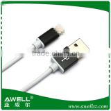 New arrival aluminium shell USB Cable for iphone 5/6/6s/6plus cable Charging & Syncing Devices