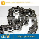 roller chain Stainless steel material 80R-1 with both side one hole attachment