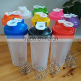 400/600ml Plastic tumbler protein shaker,water cup,BSCI approval,color optional                                                                         Quality Choice