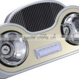 Wall Mounted mini bathroom heater lingpu AO-HB03 /3 in 1 functions/infrared lamp heater/light/fan