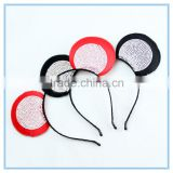 Fashion rhinestone mickey ears headband for party hair jewelry wholesale girl hair accessories