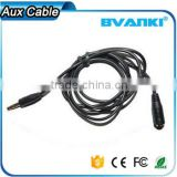 2016 alibaba best sellers wholesale usb female to aux 3.5mm male jack cable, round aux cable from china suppliers                                                                                                         Supplier's Choice