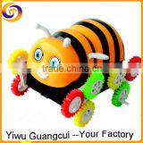 Bee shape Tip Lorry Electric cars Led light kid toy                                                                         Quality Choice