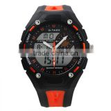 Men's Orange Rubber Digital Silicone Sport Watch WS067