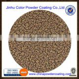rough brass surface powder coatings for metal