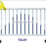 TG-01 Alibaba china high quality galvanized or powder coating road barrier/ parking barrier/traffic barrier
