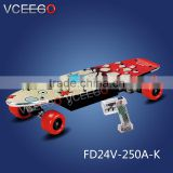 VCEEGO factory Awesome 250w easy to carry electric powered skateboard with brushless motor