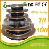 2015 Best selling led downlight smd modern shenzhen manufacturer 5w led ceiling light plastic and aluminum