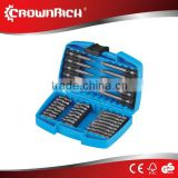 34pcs coal mining drill bits holder bush set