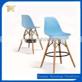 Personality Italian design heightening plastic bar chair,bar furniture,commercial chair,HYX-505