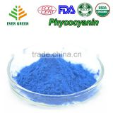 Evergreen 100% Natural Food Pigment Phycocyanin Powder ECO, USDA, KOSHER, HALA, HACCP in bulk