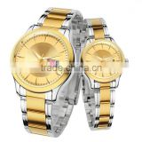 High quality fancy mens watches, couple stainless steel watch, smart valentine gift watch
