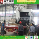 SZH2-2.5-AII 226 steam output manual type energy saving wood chips/biomass fired steam boiler