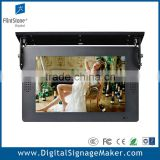 "15"" lcd bus digital signage for video display"