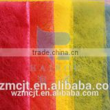 non-woven long fiber polyester materials colorful packing paper for flower wrapping