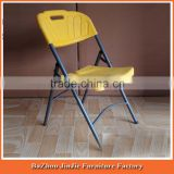 blow mold furniture outdoor and garden white plastic folding beach chair                                                                         Quality Choice