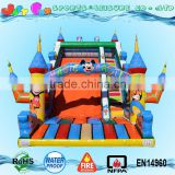 giant inflatable mickey slide for children, magic castle slide, kids slide games for sale