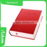best selling guangzhou promote items paper notebook with customized LOGO printing, DL172