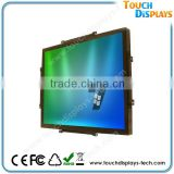Capacitive Touch Screen Open Frame 12 Inch Lcd Monitor With USB RS232 VGA Port