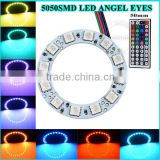 Car Parts Accessories NEW Muti-Color Changing LED Ring light RGB 5050smd angel eyes lighting                                                                         Quality Choice
