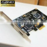 real PCIe HD hdmi video capture card hdmi input cards