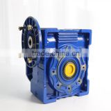 Chinese Manufacture iron die cast worm wheel Worm Reduction gearbox, Small Worm gearboxes NRV110