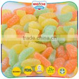 Cheap price mix-fruit flavor custom gummy candy