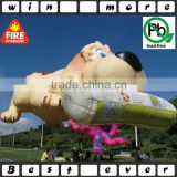 45' tall giant inflatable newspaper dog ,paper hot air balloons for sale                                                                                                         Supplier's Choice