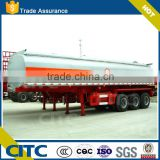3 axles 32 ton chemical liquid tank trailer acetic acid tank trailer, formalin transport semitrailer