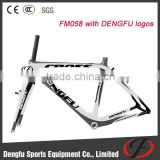 Bicycle frame FM058 with V-brake, carbon road bike frame, cyclo cross carbon frame china