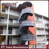 304 stainless steel outdoor metal spiral stairs                                                                                                         Supplier's Choice