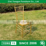 wholesale wedding party event gold chivari chairs