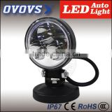 OVOVS 9W Led Work Light Super Bright for Truck Offroad Mining Machine