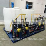 chemical dosing system in water treatment