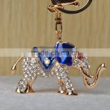 first communion gift fancy animal elephant full rhinestone crystal keychain manufacturers in china in crystal crafts