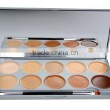 the unique and special design 10 Color Face Cosmetic Concealer cream Make Up face magic cream correct Palette